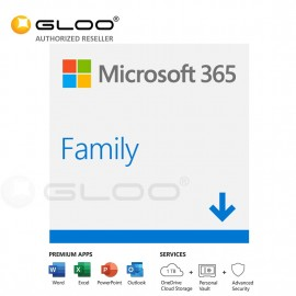 Microsoft 365 Family - ESD [Previously Known as Office 365 Home]