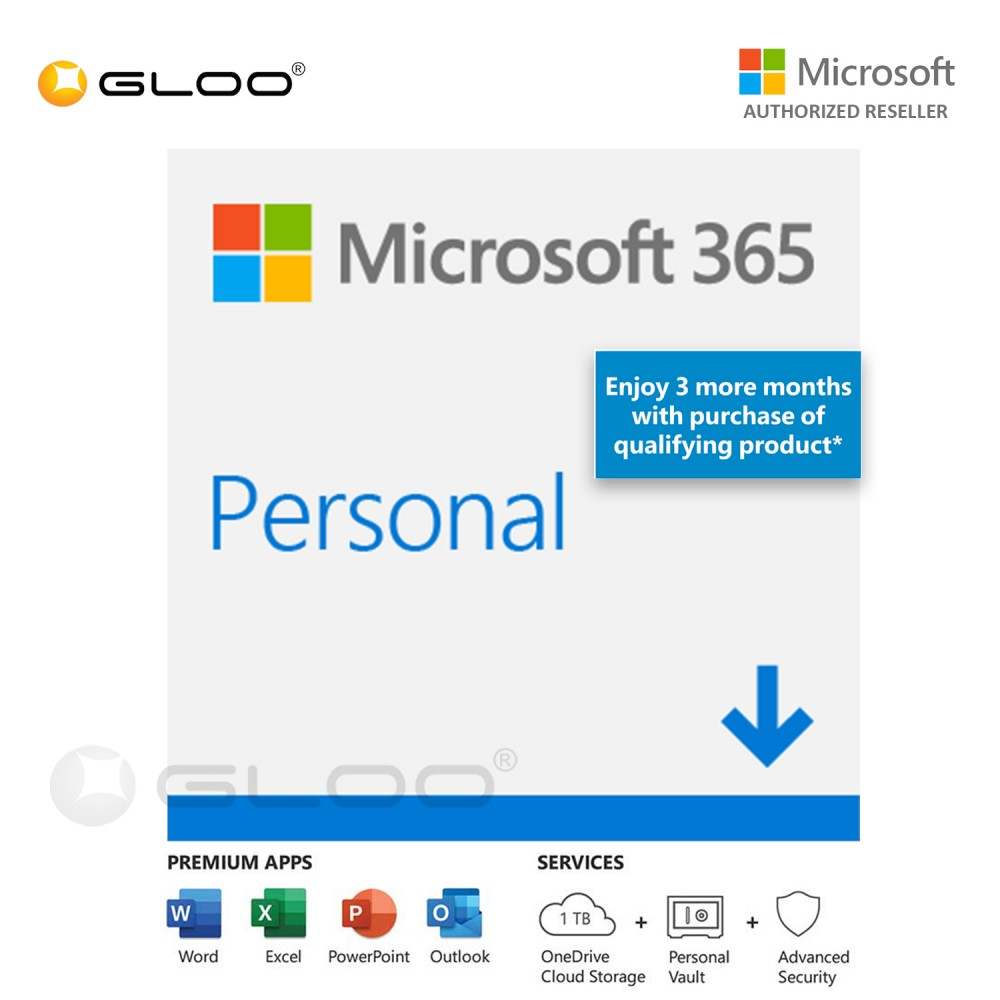 ESD - Microsoft Office 365 Personal 15 Months [Previously Known as Office 365 Personal] - QQ2-01236