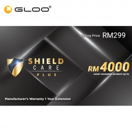 Shield Care Plus 1 Year Extended Warranty (Coverage up to RM4,000) - Platinum
