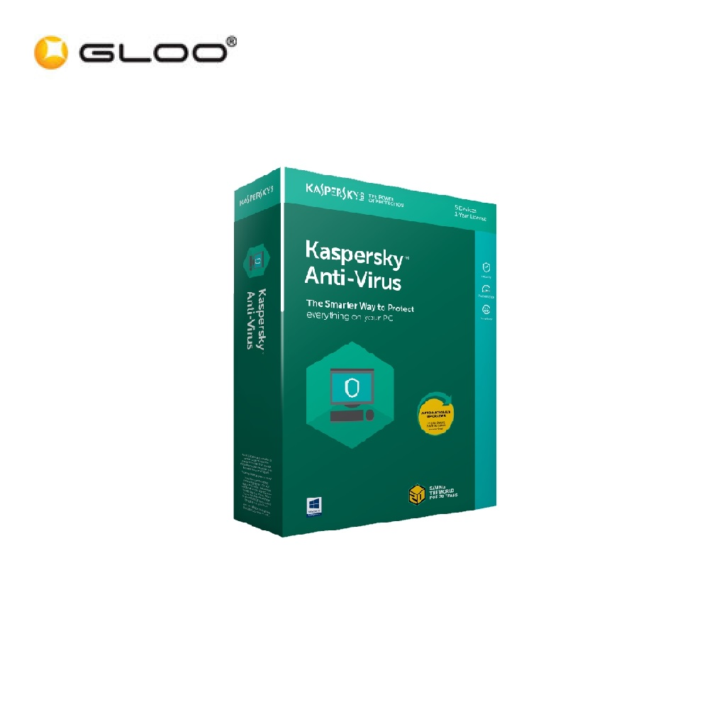 Kaspersky Anti Virus 2018 for 3users