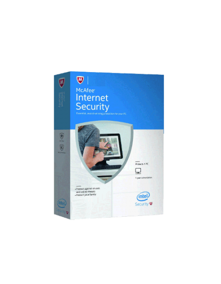 McAfee Internet Security 2016 3 Users 3 Years Retail Box Pack