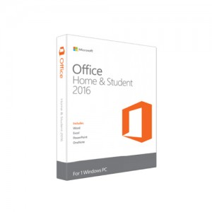 Microsoft Office Home & Student 2016 - 79G-04679