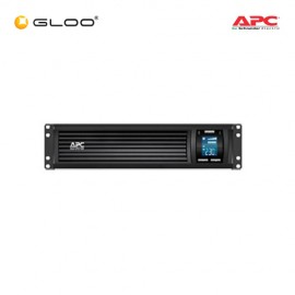 APC Smart-UPS C 1500VA  Rack Mountable LCD RM 2U 230V SMC1500I-2U - Black