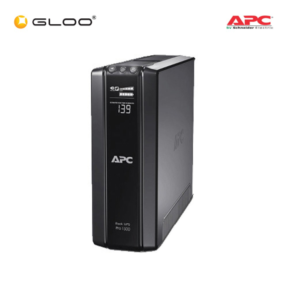 APC Power-Saving Back-UPS Pro 1500 230V BR1500GI - Black