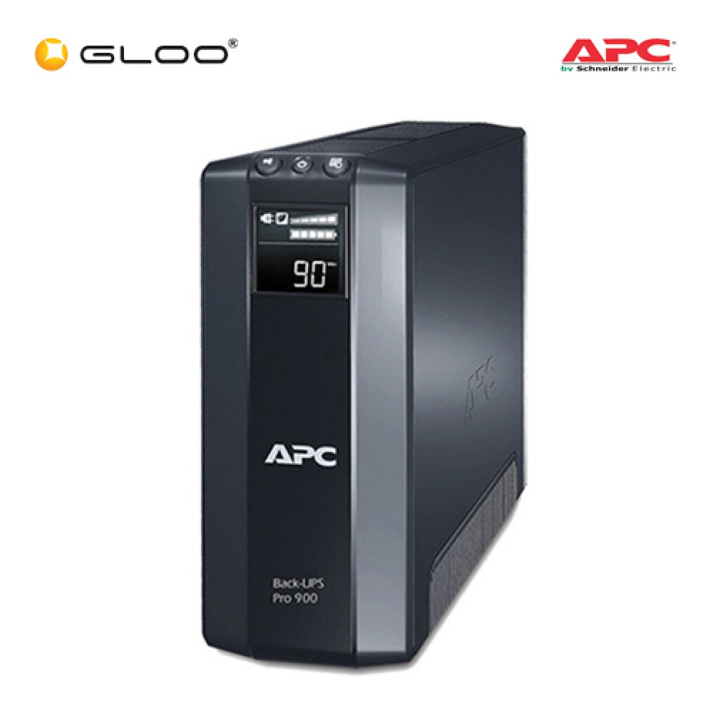 APC Power Saving Back-UPS Pro 900, 230V BR900GI - Black