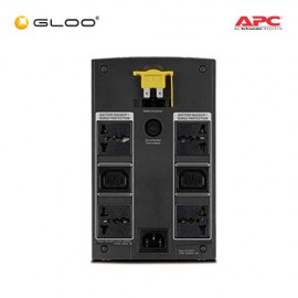 APC Back-UPS 1100VA, 230V, AVR, Universal and IEC Sockets BX1100LI-MS - Black [Free RM30 AEON Voucher on 11 - 13 November 2018]