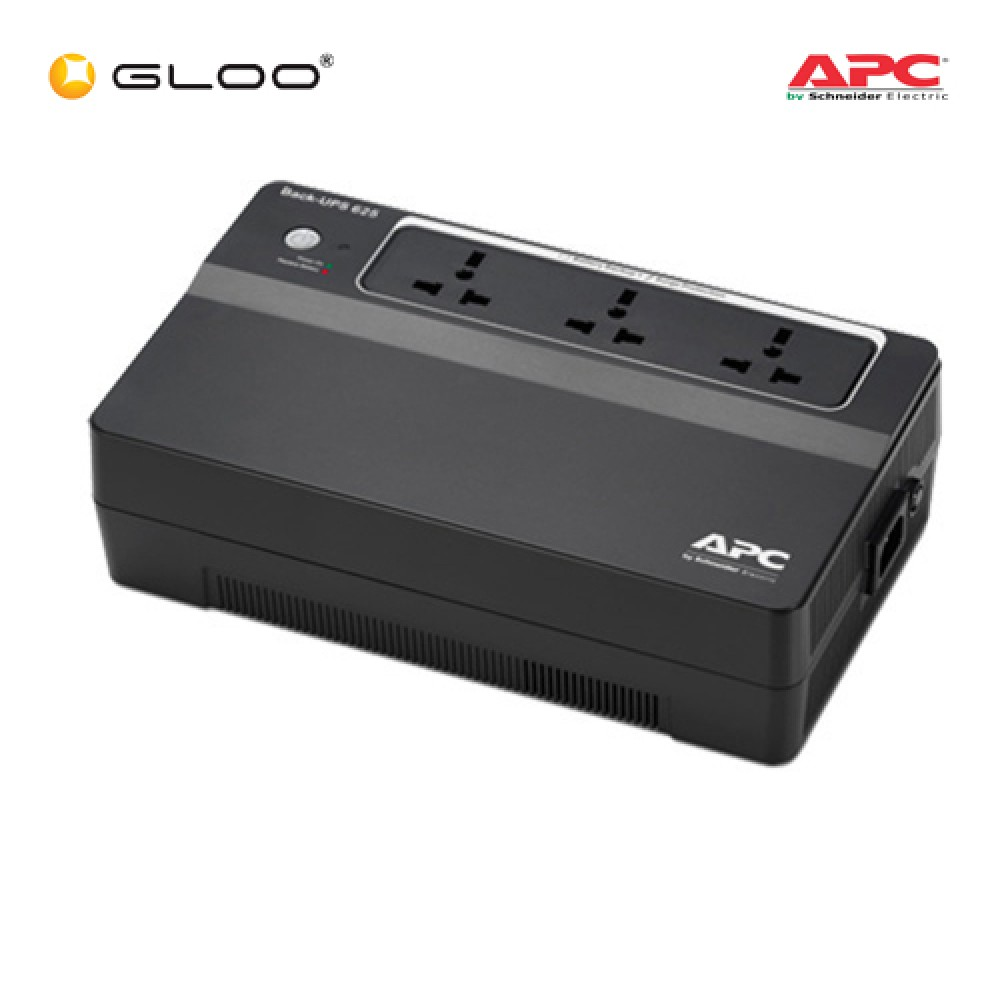 APC Smart UPS 625VA 230V Universal Outlets BX625CI-MS - Black