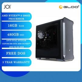 JOI PC A9500 (Ryzen 9 5900X/16GB/480GB SSD/RTX 2060S 8GB/DOS)