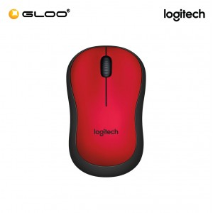 Logitech® M221 Silent Wireless 910-004884 Mouse - Red