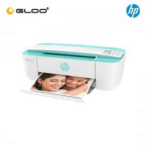 HP DeskJet Ink Advantage 3776 AlO Printer (J9V87B) - Seagrass Green