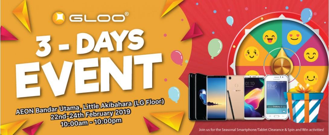 3days event