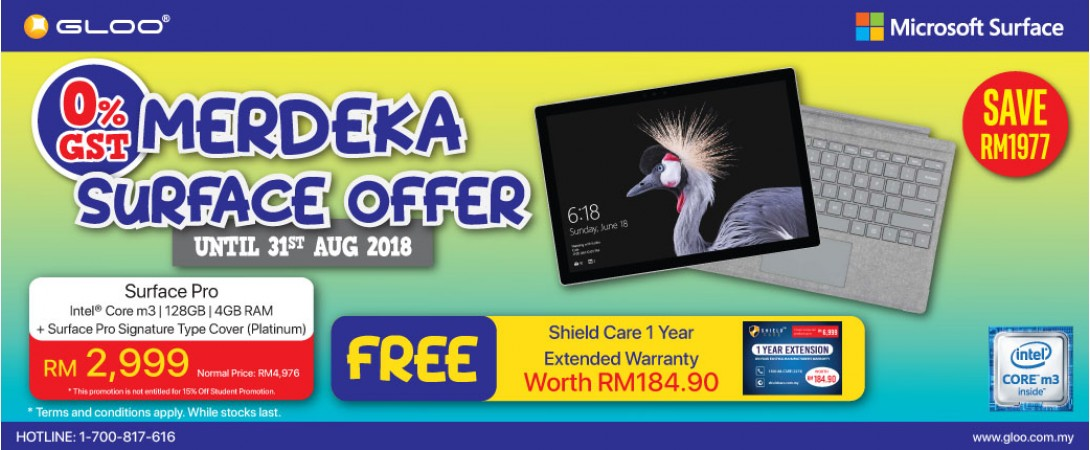 Merdeka Surface Offer