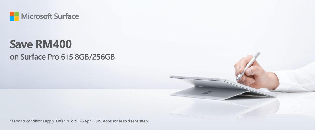 Surface Pro 6 Promo