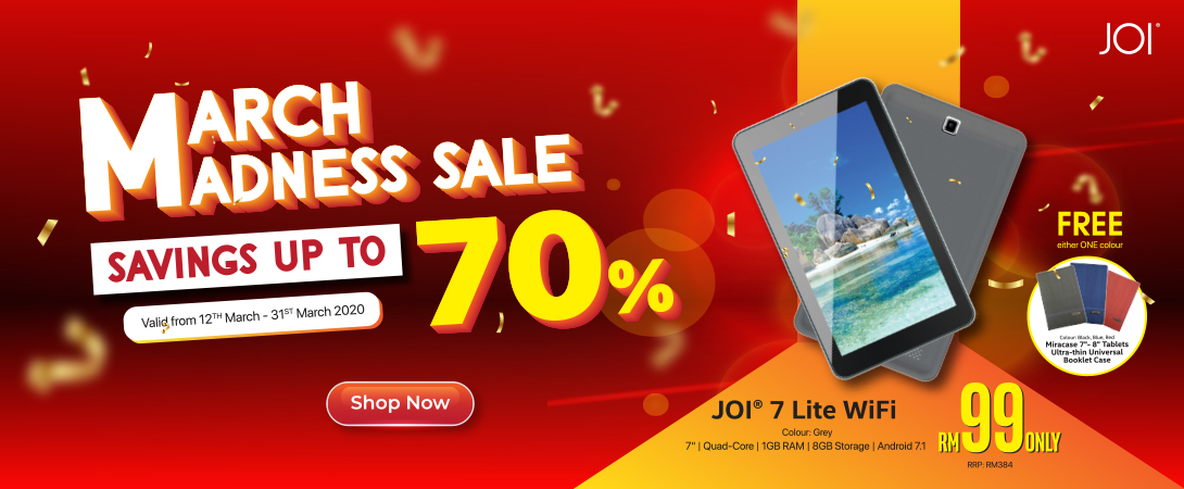 JOI 7 Lite wifi promotion