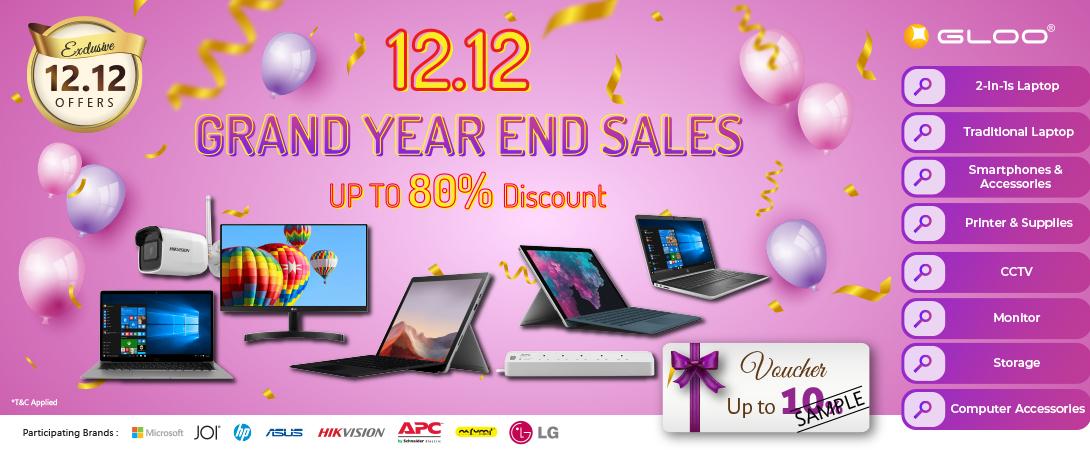 Gloo 12.12 Grand Year End Sale