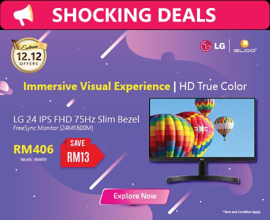 LG 24 IPS FHD 75Hz Slim Bezel FreeSync Monitor [24MK600M]