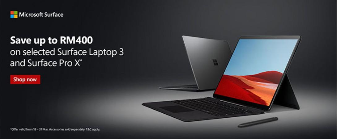 Surface Pro X Promo
