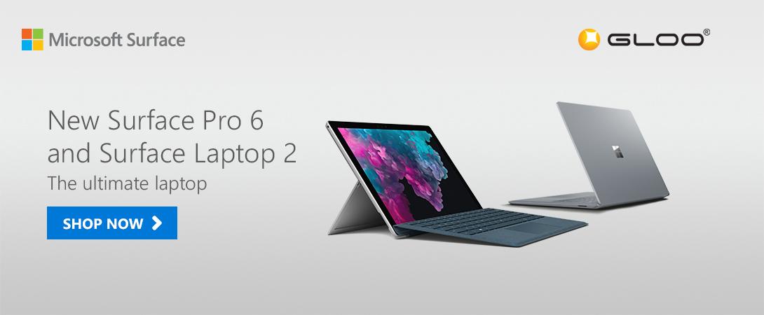 Surface Pro 6 & Surface Laptop 2