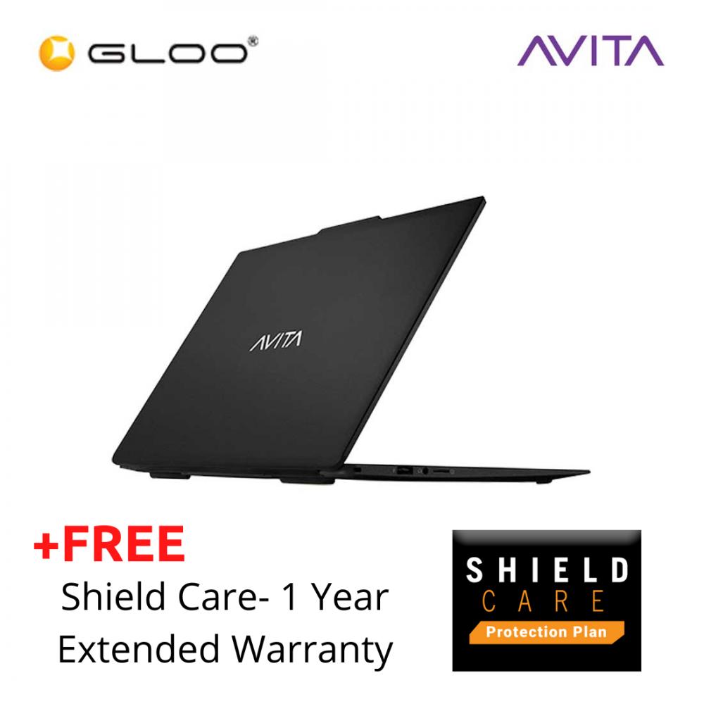 AVITA LIBER V14 Notebook (i7-10510U,8GB,1TB SSD,14''FHD,W10,Matt Black) + 1 Year Shield Care EW