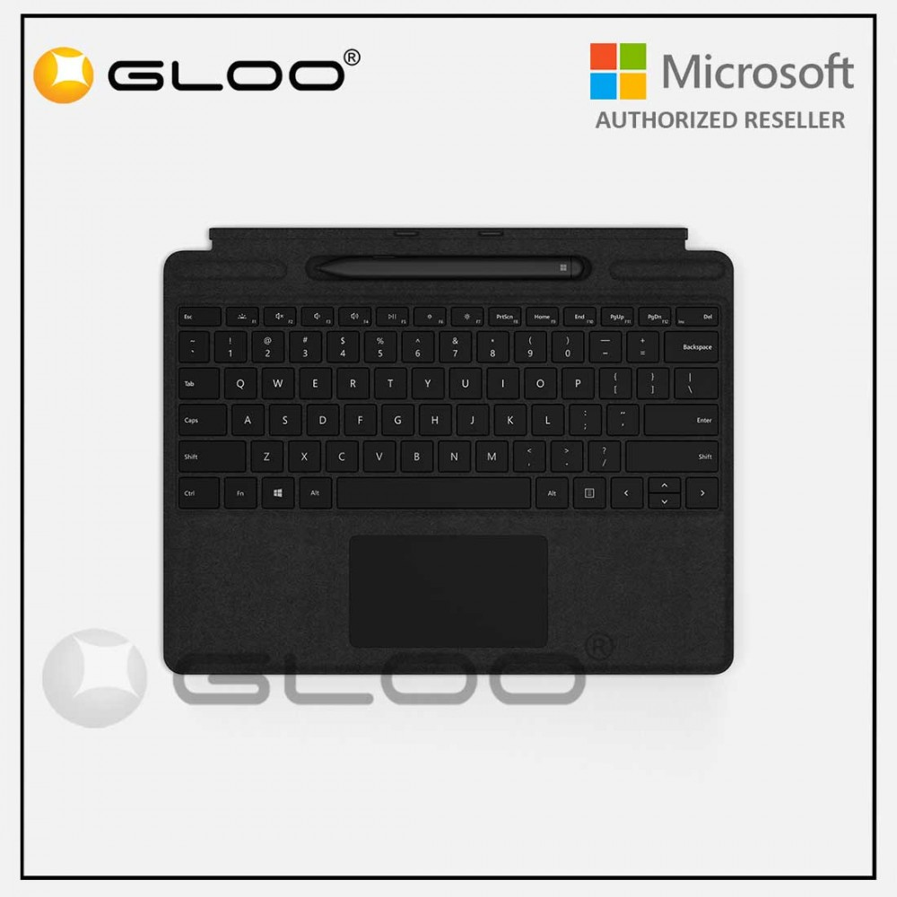 Microsoft Surface Pro X Type Cover with Slim Pen Bundle Black - QSW-00015 [KBDMSOFQSW0015]