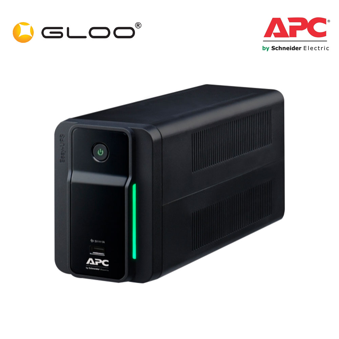 APC Easy UPS BVX 700VA, 230V, AVR, USB Charging, Universal Sockets BVX700LUI-MS - Black