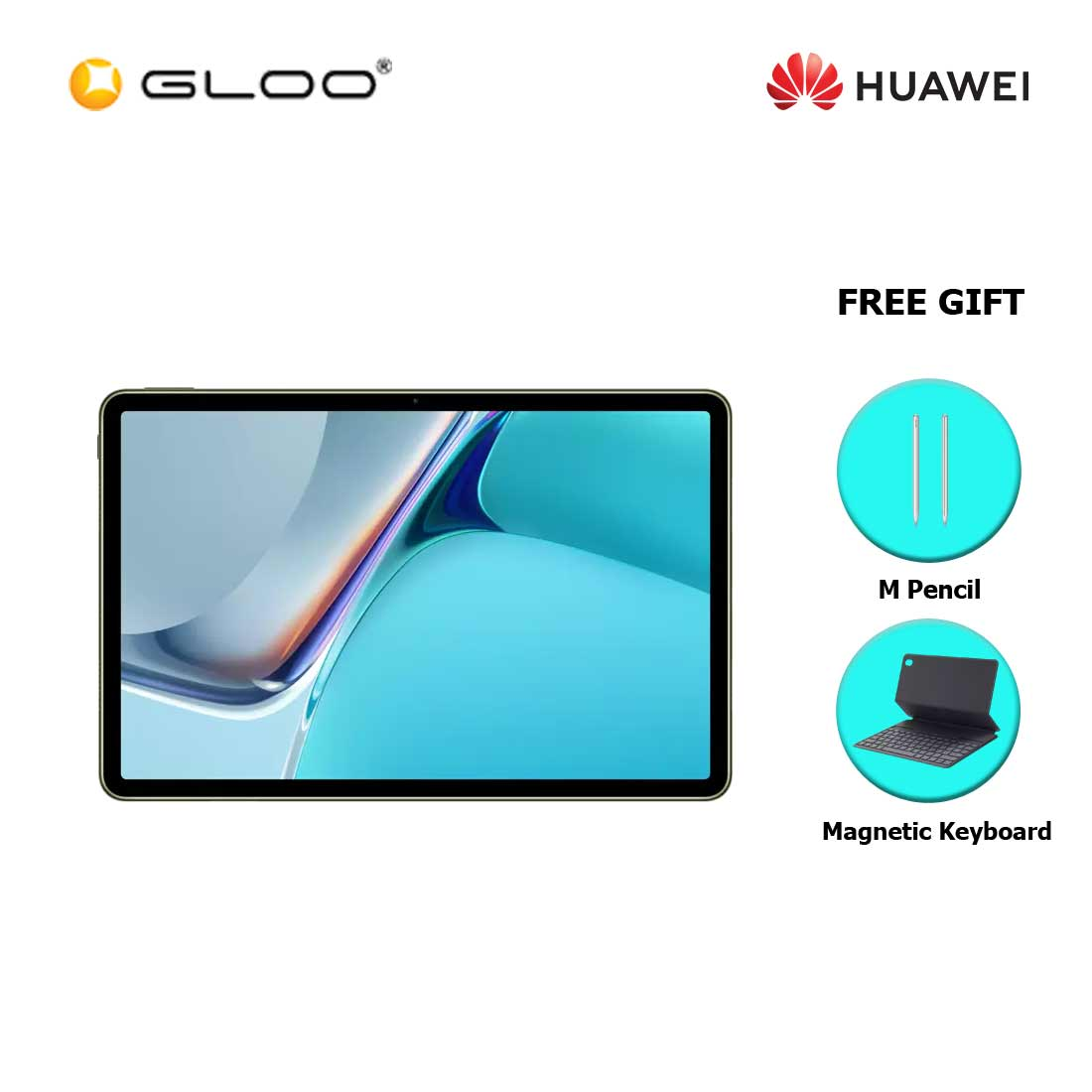 [Pre-Order] Huawei Matepad 11 256GB Olive Green FREE Huawei Matepad 11 M Pencil + Huawei Matepad 11 Magnetic Keyboard (ETA : 6.8.2021)