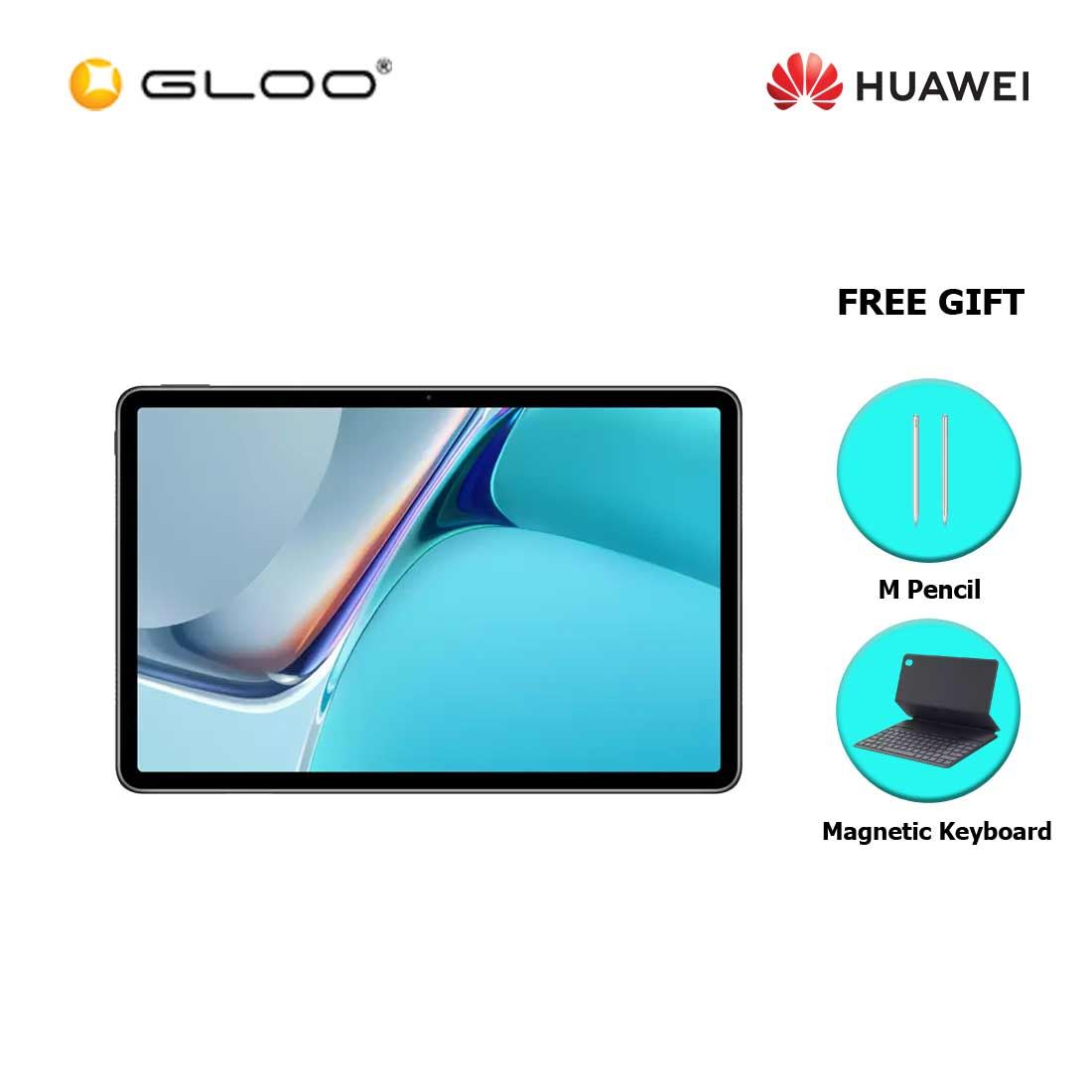 [Pre-Order] Huawei Matepad 11 128GB Matte Grey FREE Huawei Matepad 11 M Pencil + Huawei Matepad 11 Magnetic Keyboard (ETA : 6.8.2021)