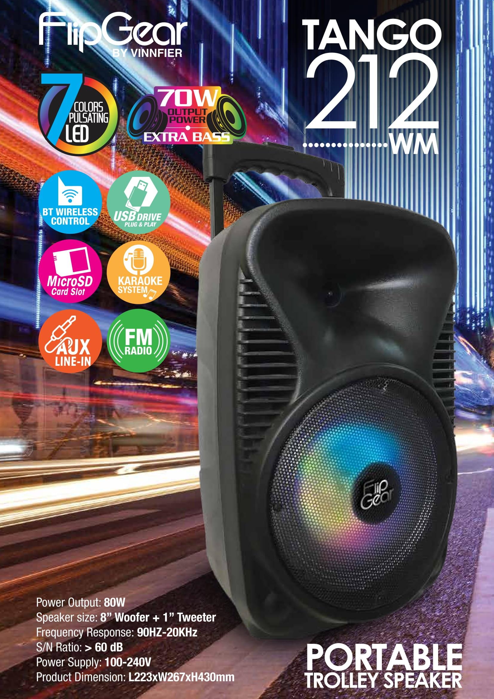 Vinnfier-Tango-212-Bluetooth-Speaker