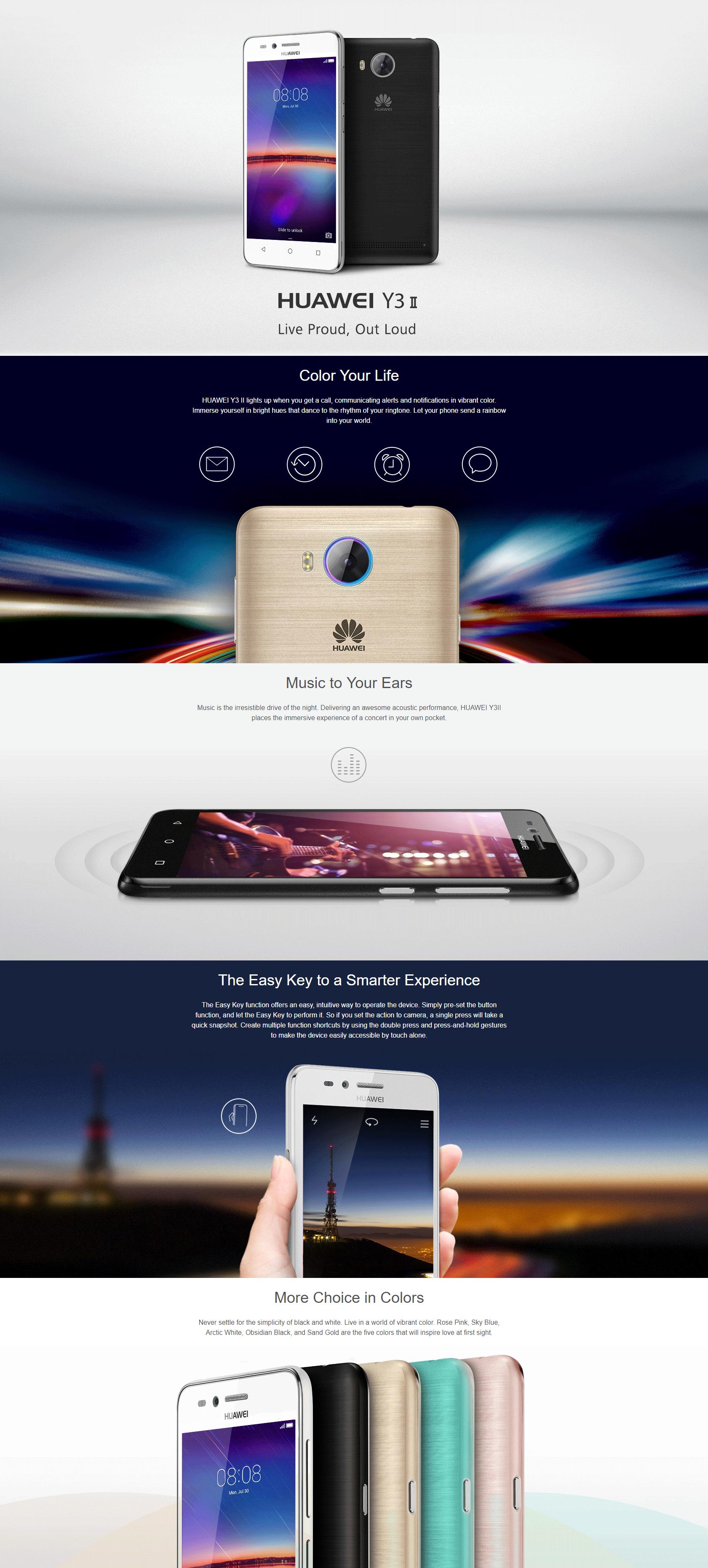 Huawei Y3ii LUA-U22 4 5