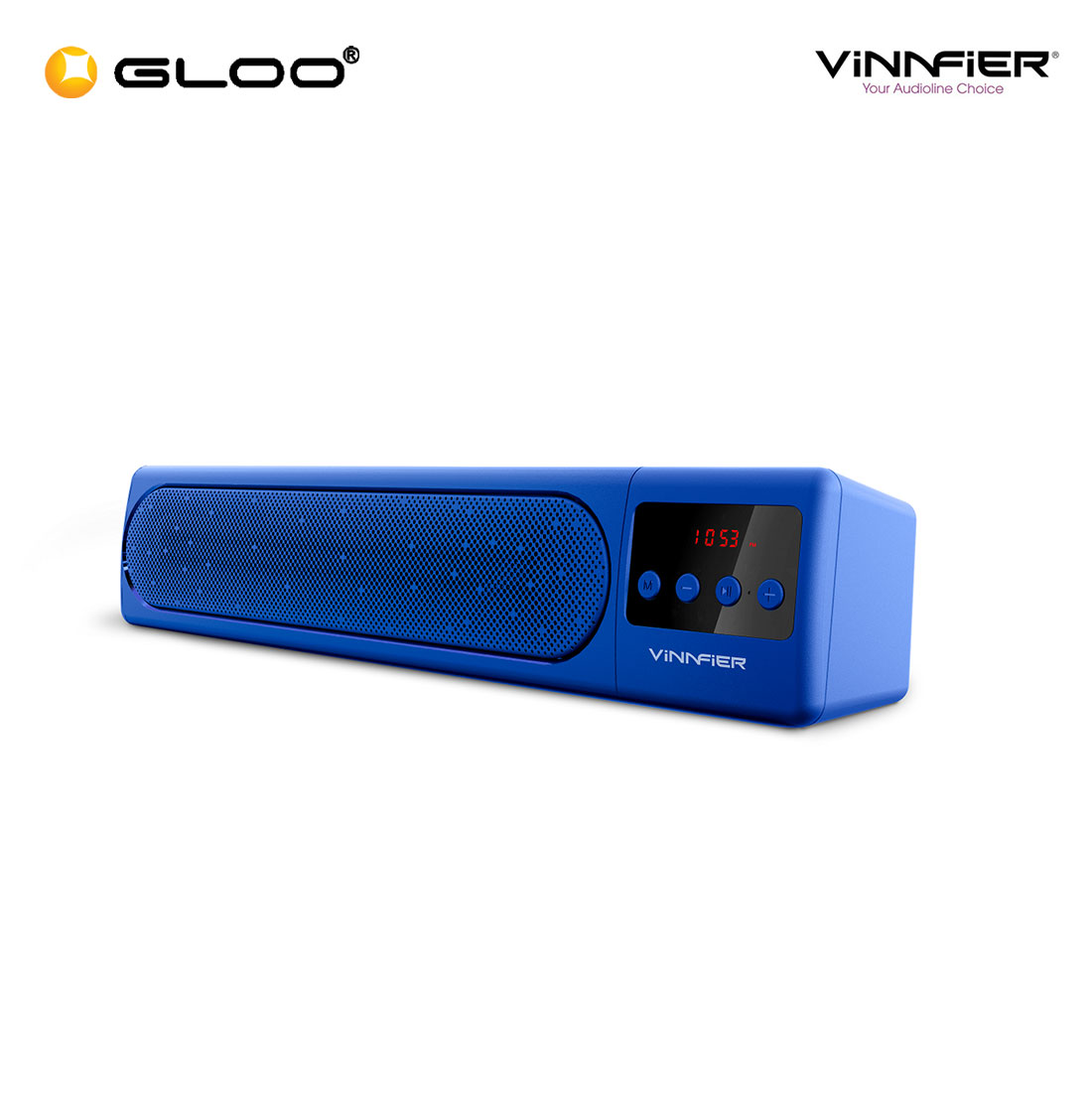 Vinnfier Hyperbar 100BTR Wireless Soundbar - Blue
